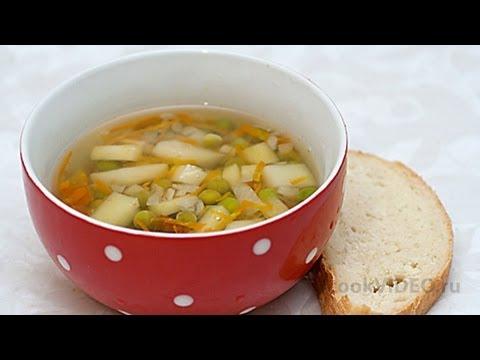 Суп с зеленым горошком видео рецепт UcookVideo.ru