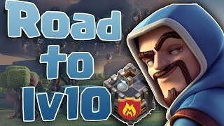 CLASH OF CLANS : Road to LV10 - Noooo...