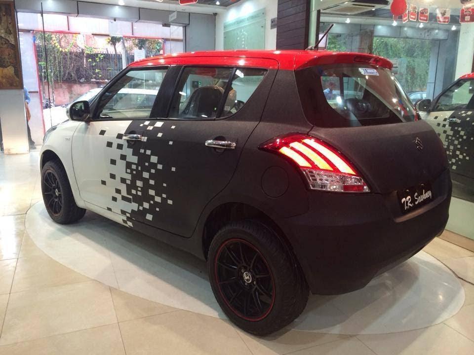Delhi Auto Expo 2014 Maruti Swift Volt Edition Launched