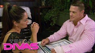 Nikki Bella finally talks to John Cena about signing his contract: Total Divas, Nov. 24, 2013