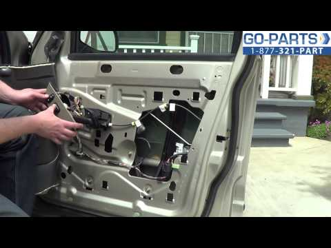 Replace 2001-2005 Ford Explorer Front Power Window Regulator. How to Change Install 2002 2003 2004