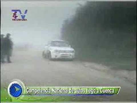 Competencia Nacional de autos llego a Cuenca