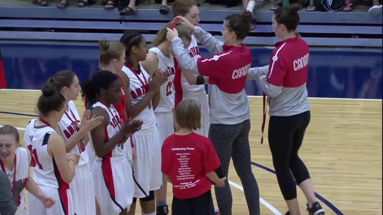 Gold Medal Game - U17 Girls - Ontario vs. Manitoba
