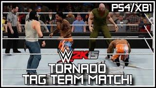 WWE 2K15 PS4/XB1 - Hidden Match? The Tornado Tag Team Match Lives!