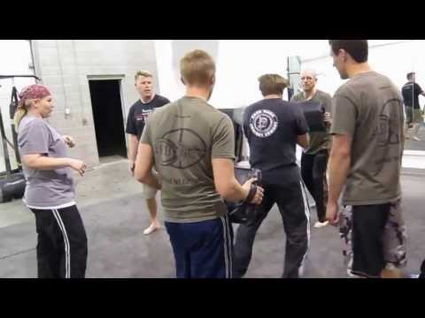 Circle of Death drills at Krav Maga Reborn Image 1