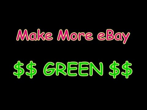 How to Make More Money on eBay. Cleaning Tips # 1