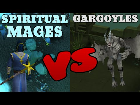Money Making: Gargoyles VS Spiritual Mages [Runescape 2015]