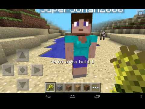 Realms in Minecraft PE 0.9.0 build 1 with Johan
