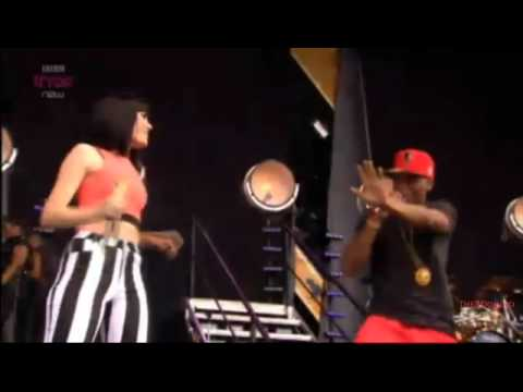 Jessie J - Price Tag feat. B.O.B BBC Radio1 Hackney Weekend 2012