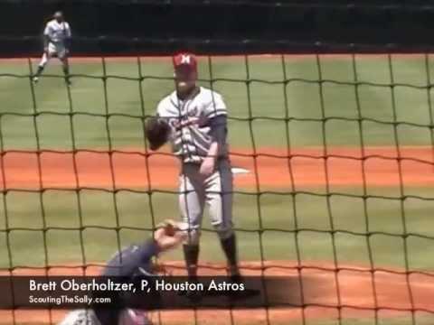 Brett Oberholtzer, P, Houston Astros
