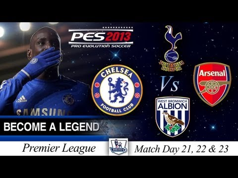 ... Series #1 - PES 2013 - Match Days 21, 22 and 23 - Derby Day Key Games
