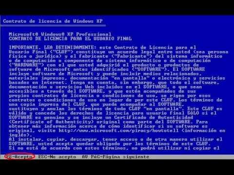 formatear,particionar disco y instalar sistema operativo