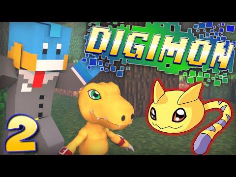 digimon Morph Mod! Minecraft - Digimon Modded Adventure! - Ep #2 video