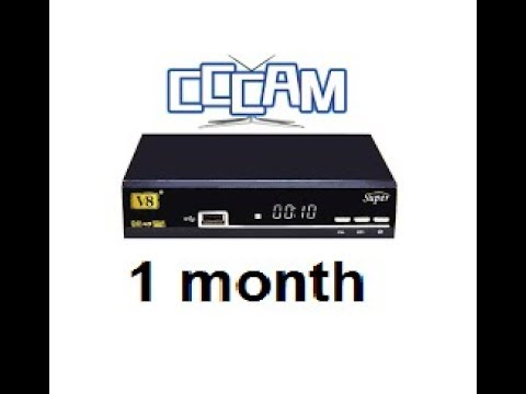 ***CCCAM FOR 1  MONTH***