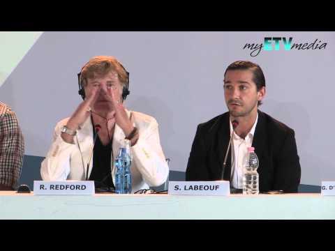 Shia LaBeouf on the Company You Keep (69th Venice International Film Festival)