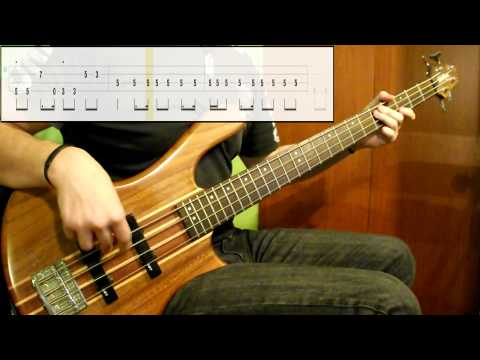 Red Hot Chili Peppers - Dani California (bass Cover) (play Along Tabs In Video) video