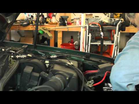 Volkswagen Jetta Secondary Air Injection Diagnosis Part 4 (Lock Carrier Service