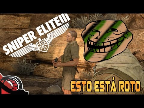 ESTO ESTÁ ROTO   Sniper Elite 3 - EP: RAGE Long Range Lechero