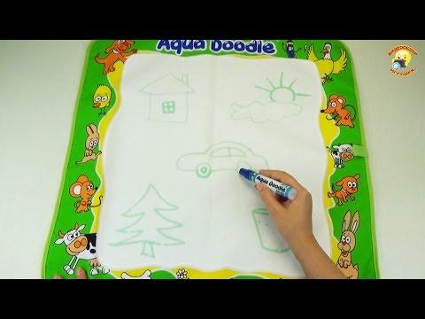 Детские наборы Aqua Doodle. Рисуем водой / baby sets, draw water