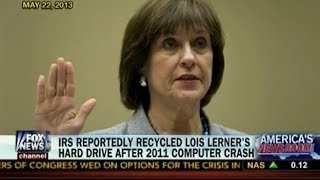 IRS Reportedly Recycled Lois Lerner's Hard Drive After 2011 Computer Crash - Americas Newsroom