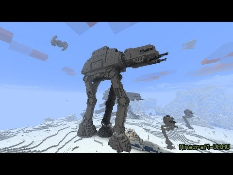 Star Wars Minecraft (часть 2)