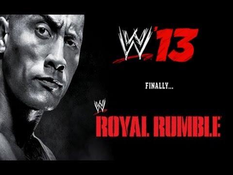 Wwe Royal Rumble 2013 Wwe 13 Simulation video