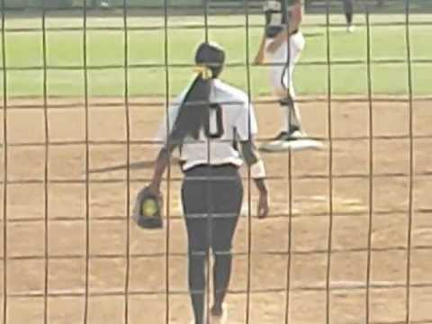 Erin Jones-Wesley Paints The Outside Corner For Another Strikeout