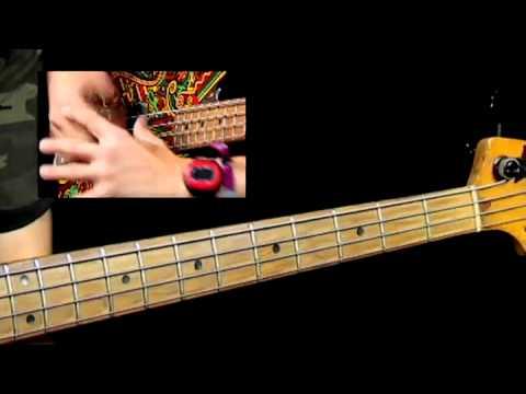 50 Freekbass Licks - #2 E-minor Sock Hop - Bass Guitar Lessons video