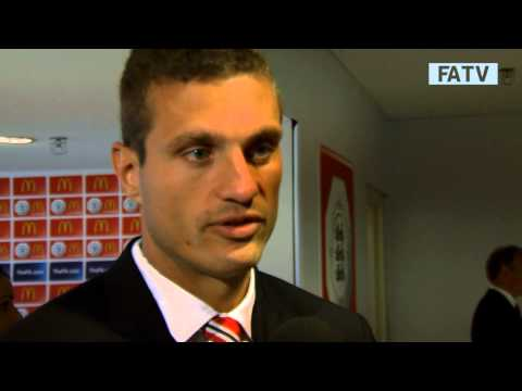 Nemanja Vidic post match interview - Manchester United vs Wigan Athletic 2-0, FA Community Shield