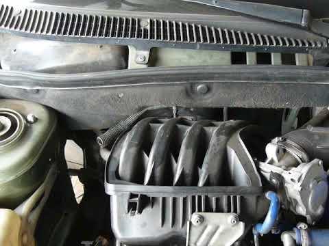 Работа двигателя 21116 (переделка 11183)