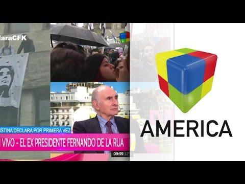 Fernando de la Rúa: Yo voté a Macri y estoy contento con su gobierno