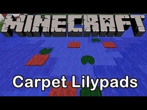 Cool Tricks in Minecraft Minecraft Cool Carpet Trick