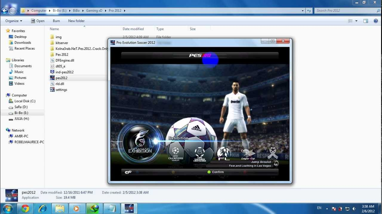 pes 2012 android мультиплеер