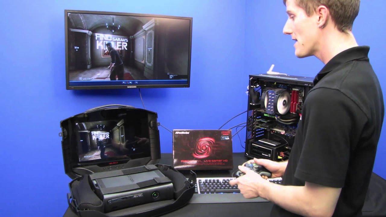 Avermedia Live Gamer HD XBox 360 Gameplay Capture Guide