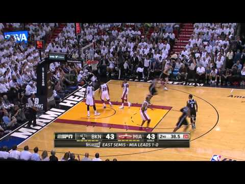 Brooklyn Nets vs Miami Heat Game 2 | May 8, 2014 | NBA Playoffs 2014