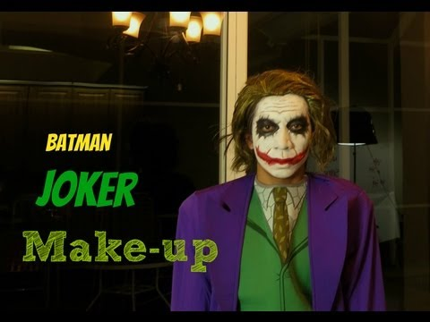 Batman-The Joker Make-up Tutorial