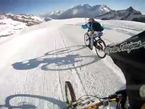 Glacier Bike Downhill Saas Fee 2012