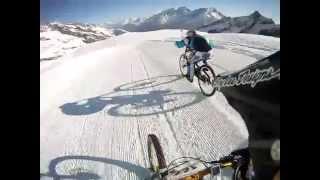 Glacier Bike Downhill Saas Fee 2012