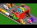 Colors for Children to Learn with Street Vehicles - Colours C...
