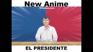 "NEW PHILIPPINE ANIME ""EL PRESIDENTE"" (MUST WATCH)"