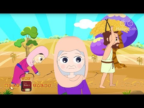 Ruth Works In The Fields - Bible Stories For Children video