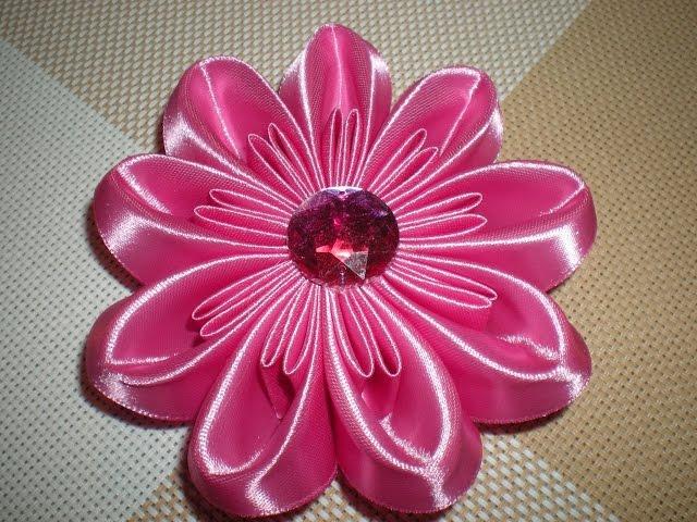 Мастер-классы изготовления цветов канзаши