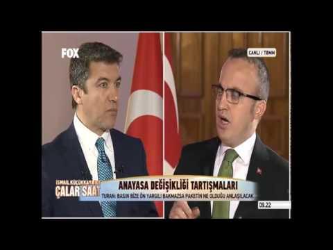 AK Parti Grup Başkanvekili Bülent Turan Fox Tv Ekranlarında Anayasa Görüşmelerini Değerlendirdi.