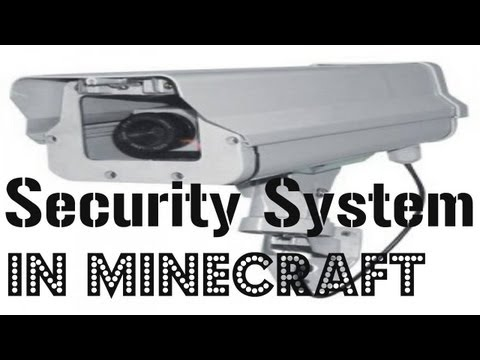 [Minecraft] How To Make A Security System In Minecraft