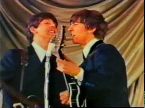The Beatles come to town - RARE 1963 (color)
