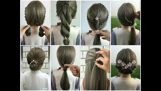 [ Tik Tok TQ ] 8 kiểu tóc xinh cho tóc dài