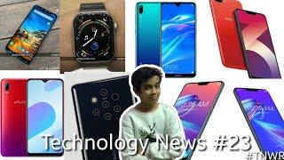 Technology News #23 - Vivo Y93s, poco F1 update, Asus, Huawei Enjoy 9,oppo A3s, Nokia 9,Apple Watch.