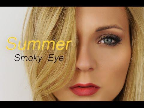Letni, Połyskujący I Prosty W Wykonaniu Makijaż Smoky Eye