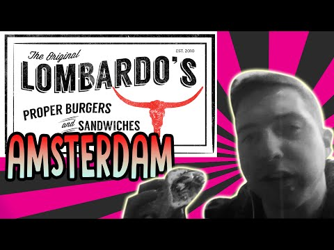 Lombardo's burgers and sandwiches Amsterdam, Philly cheese steak fast food review Netherlands