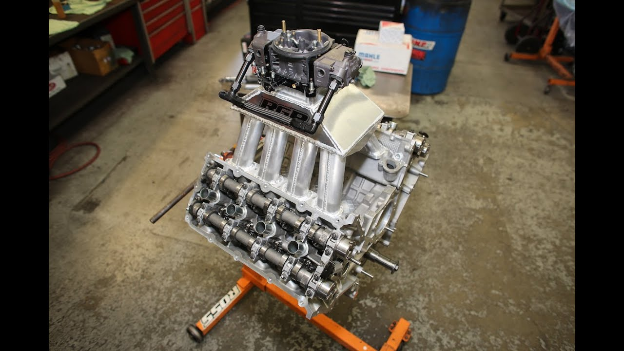 Carbureted Cobra Jet Coyote Engine Build: The Short Block - YouTube